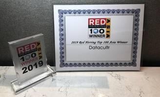 datacultr wins the prestigious '2019 red herring top 100 asia award'