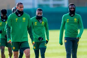 Celtic discover Iron Man to rival Scott Brown as snood season returns to Lennoxtown