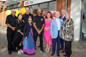 businessman opens dream business with £500k investment in new the massage company shop in sutton coldfield