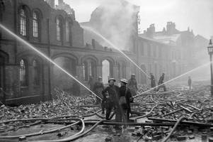 interactive map charts every wartime bomb which was dropped in brum during the blitz