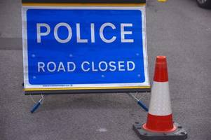 A37 closed for at least two hours after crash - live updates
