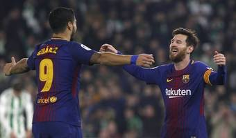 barcelona march on with victory over eibar