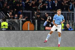 ciro immobile leads stunning lazio recovery as they show fighting spirit ahead of celtic clash
