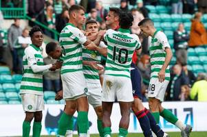 nir bitton and brian graham in celtic park bust-up as pair clash in fiery full-time row