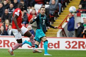 Barnsley 1-1 Swansea City: Alex Mowatt cancels out Andre Ayew effort as spoils are shared