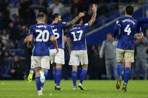 cardiff city's 'outstanding' menace against sheffield wednesday who could change landscape against millwall and swansea city