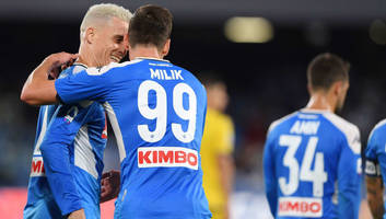 napoli 2-0 verona: report, ratings & reaction as milik brace seals home victory