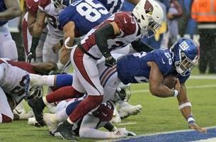 Barkley returns and scores, but Giants' O still struggles