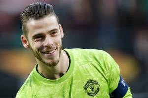david de gea still believes he could play for man utd against liverpool
