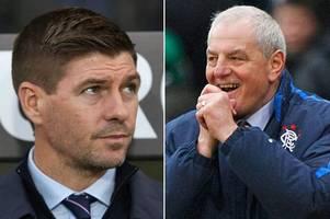 rangers boss steven gerrard can reach walter smith status with celtic triumph
