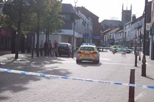 Live updates as police and fire crews swarm Ilkeston street