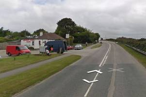Motorcyclist taken to hospital after crash with car - live updates
