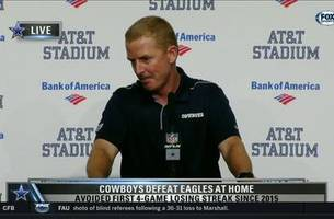 Jason Garrett: Defense turnovers were huge in win over Eagles | Cowboys Game Night