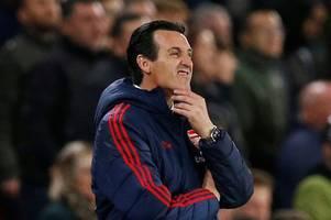 Arsenal fans demand Unai Emery sacking tonight after Sheffield United defeat