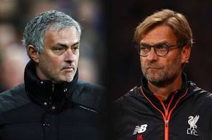 jose mourinho fires brutal 'can't beat man utd away' dig at jurgen klopp