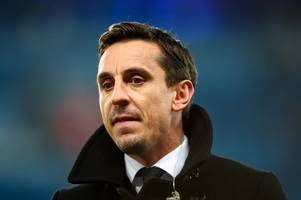 liverpool fans in meltdown at gary neville reaction to adam lallana goal vs man utd