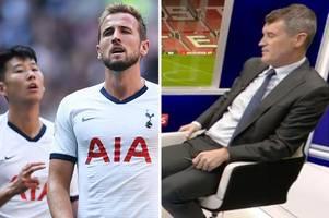 Man Utd fans demand Son Heung Min amid Roy Keane's Harry Kane transfer call