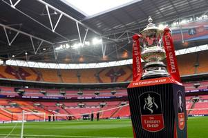 fa cup first round draw - live updates as round one fixtures are announced