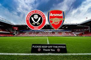 Sheffield United vs Arsenal live: Kick off time, confirmed team news and goal updates