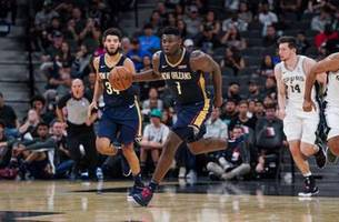 pelicans' zion williamson out 6-8 weeks after knee scope