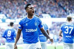 aston villa in transfer war with crystal palace for rangers star alfredo morelos