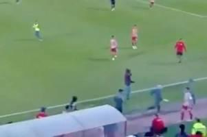 olympiakos vs bayern munich uefa youth league match suspended amid violent scenes