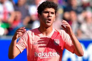 spurs plot second raid for barcelona's carles alena as christian eriksen replacement