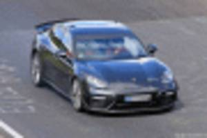 hardcore porsche panamera testing at the 'ring could be 10th anniversary special