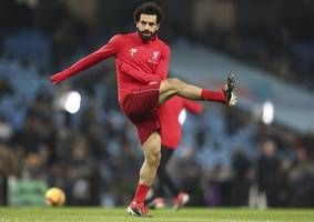 mohamed salah travels with liverpool squad to genk after ankle injury