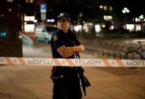 oslo police open fire on man who reportedly drove into crowd