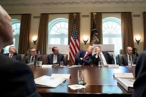 Trump calls impeachment inquiry 'a lynching'