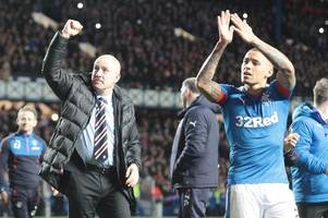 rangers fans' james tavernier criticism leaves mark warburton stunned as he spells out unusual quality