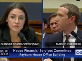 alexandria ocasio-cortez grilled zuckerberg on facebook's controversial ad policies and he struggled to answer her questions