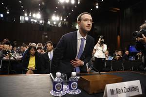 Facebook CEO Mark Zuckerberg is about to testify in front of Congress for the first time in over a year — here's how to watch (FB)