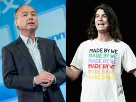 SoftBank likely had the Vision Fund on its mind when it decided to rescue WeWork