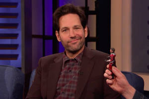 paul rudd knows his ant-man action figure looks like a total 'd—' (video)