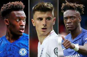 chelsea trio can lay down a marker in frank lampard's side with ajax showing