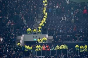 tottenham facing fine from uefa - for red star belgrade fan behaviour
