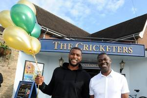 nottingham forest legend wes morgan reveals tipple of choice while celebrating beeston pub anniversary