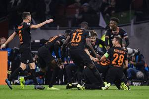 michy batshuayi noticed what jorginho did as he celebrated chelsea's winner against ajax