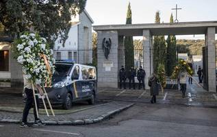controversial exhumation of franco's remains begins in madrid