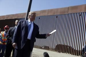 trump: 'we're building a wall in colorado, a big one'