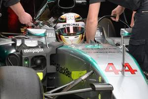 lewis hamilton without race engineer peter bonnington for mexico-us gps