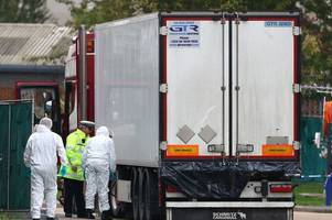 doomed migrants left 'bloody handprints' on lorry walls while trapped inside freezing container