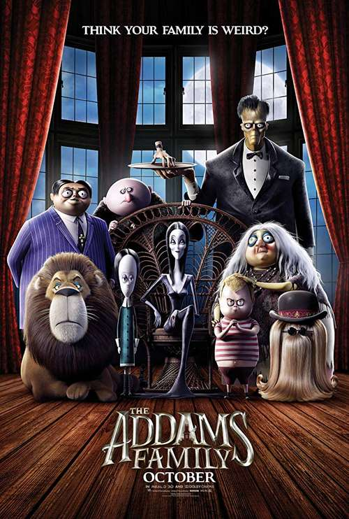 movie review: the addams family