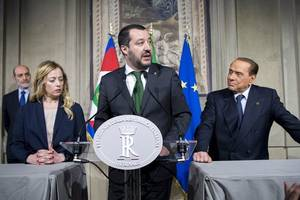 umbria election exit poll points to win for salvini and italy's right