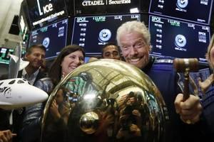 virgin galactic soars in its stock exchange debut