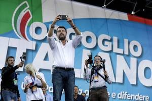 win for salvini as italian far-right takes left-wing stronghold of umbria