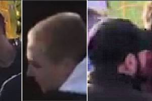 police appeal to find three fans following alleged racism at yeovil town's game at haringey borough