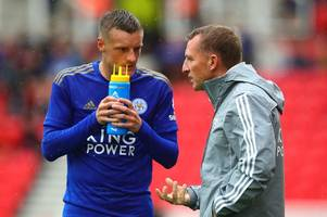 What Leicester City boss Brendan Rodgers said when he first met Jamie Vardy